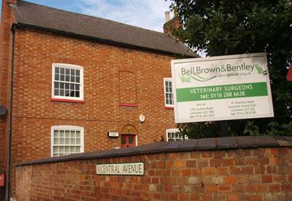 Bell, Brown & Bentley Veterinary Surgeons, Wigston
