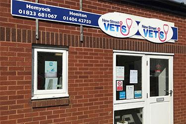 New Street Vets, Hemyock