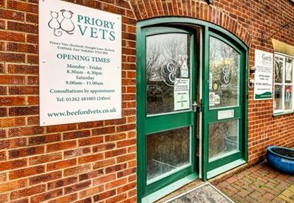 Priory Vets, Beeford