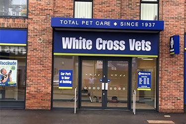 White Cross Vets, Sale